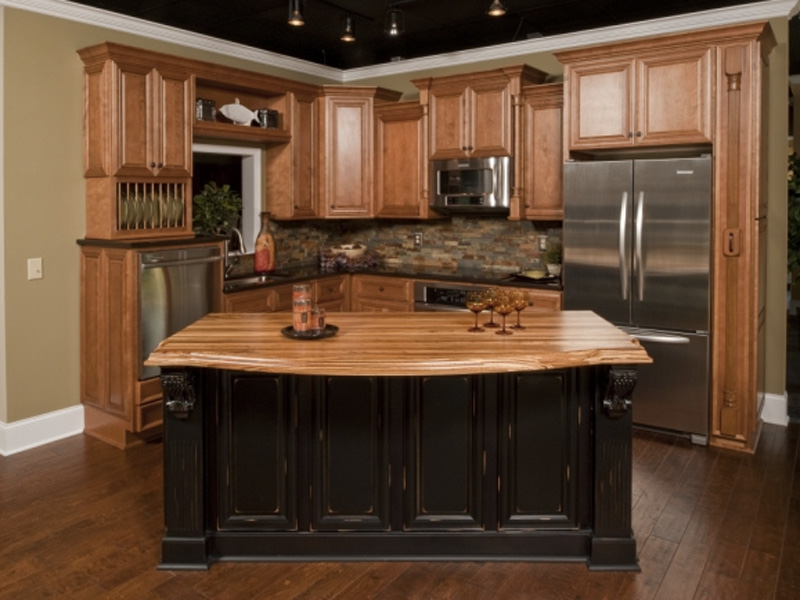 Design In Wood What To Do With Oak Cabinets: Kitchen Cabinets Paradise