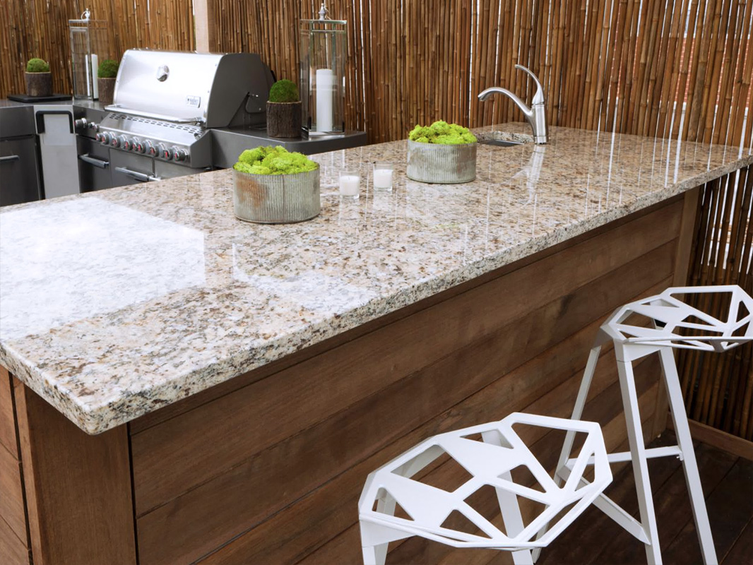Outdoor Kitchen Countertop Outdoor Kitchen Paradise Granite